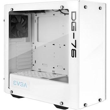 Carcasa EVGA DG-76 White RGB LED Tempered Glass Fara sursa 166-w1-2232-kr