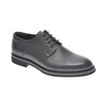 Pantofi OTTER negri, 20KL701, din piele naturala
