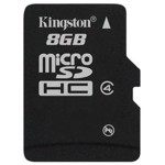 Card de memorie Kingston MicroSDHC, 8GB