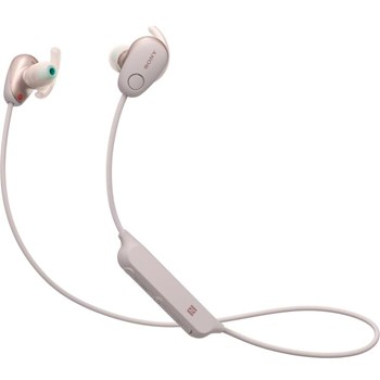 Casti Sony WI-SP600 Bluetooth sport, roz