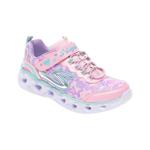 Pantofi sport SKECHERS multicolor, Heart Lights, din material textil si piele ecologica