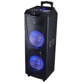Boxa portabila cu BT, lumini disco, functie inregistrare, microfon