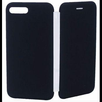 Protectie Spate Senno Tip Flip Rubber Cover SNNM-FC-FCR-APIP7P pentru Apple iPhone 8 Plus (Negru)