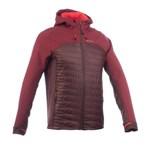 Jachetă Softshell Trekking la munte 900 Hybrid Maro Bărbaţi QUECHUA