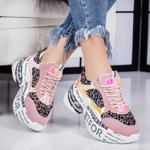 Pantofi sport dama roz Sensiola-rl