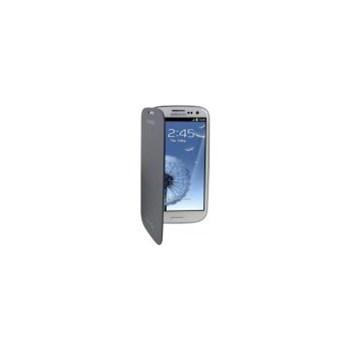 Husa Samsung Flip EFC-1G6FBECSTD pentru i9300 Galaxy S III (Albastra)