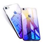 Husa Apple iPhone 8 Elegance Luxury Gradient Color Albastru-Galben 02hci8ag