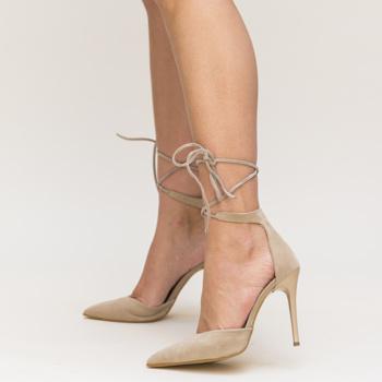 Pantofi Marguta Bej