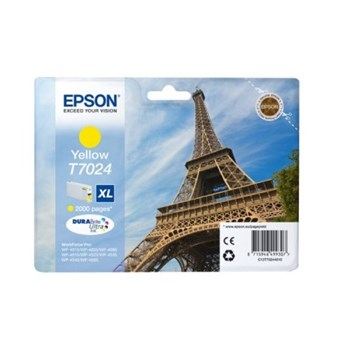 Toner inkjet Epson T7024 XL Yellow, 2000pag