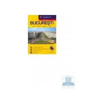 Atlas rutier Bucuresti de buzunar 978-963-352-514-2