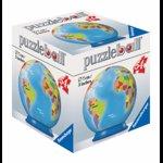 Puzzle 3D - Globul pamantesc, 54 piese