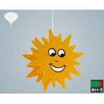 Pendul Eglo Junior 3 1x60W, colectia Basic, design soare