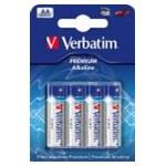Baterii Alkaline Verbatim, AA, 4 buc.