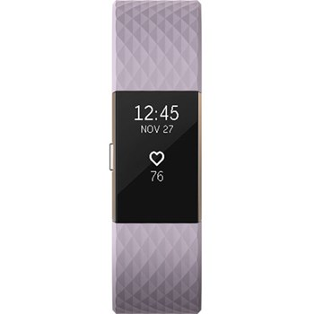 Bratara fitness Fitbit Charge 2, Lavender Rose Gold, Large
