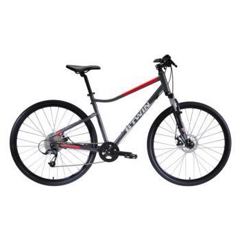 Bicicletă Polivalentă Riverside 500 Gri/ Roșu RIVERSIDE