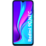 Smartphone Xiaomi Redmi 9C, Ecran IPS, Octa Core 2.3GHz, 64GB, 3GB RAM, Dual SIM, 4G, NFC, 4-Camere, Baterie 5000 mAh, Android 10, Twilight Blue