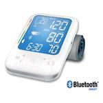 Tensiometru de brat MEDISANA BU 550 Bluetooth Smart, indicator de aritmie, 500 sloturi de memorie,alb