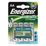 Baterie reincarcabila 7638900416893, ENERGIZER Extreme, AA, HR6, 1,2V, 2300mAh, 4 bucati