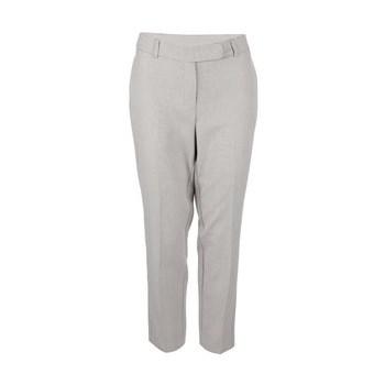 Pantaloni Dorothy Perkins bej cu imprimeu fin