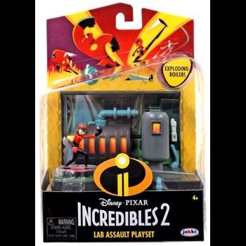 Figurine / Set Incredibles - Laboratorul si Fata Elastica