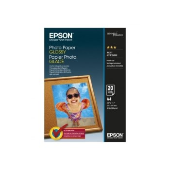 Hartie foto Epson Photo Paper Glossy A4 20 sheet c13s042538
