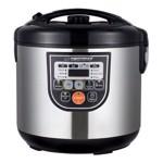 Multicooker Cooking Mate Esperanza, 860 W, 5 L, 11 functii, corp inox
