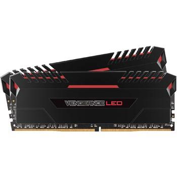 Memorie Corsair Vengeance Red LED 32GB 2x16 DDR4 3000MHz CL16 cmu32gx4m2c3000c16r