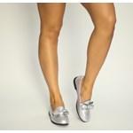 Pantofi Casual Scobi Argintii
