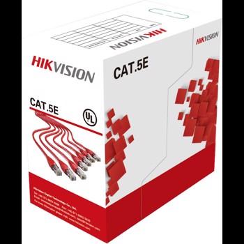 Cablu UTP CAT5 Hikvision 305M, DS-1LN5E-S CAT5e
