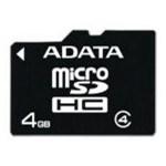 Card ADATA Micro SDHC 4GB Clasa 4 AUSDH4GCL4-R