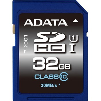 Card de memorie ADATA SDHC Ultra-High Speed 32GB Clasa 10 asdh32guicl10-r
