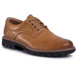 Pantofi CLARKS - Batcombe Hall 261410227 Tan Leather