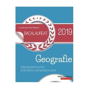 Bacalaureat 2019. Geografie