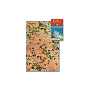 Harta pliata, Romania turistica, 70 x 100cm, AMCO PRESS