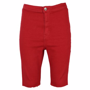 Pantaloni scurti Bershka April Red