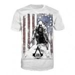 Tricou Assassins Creed Burn White M