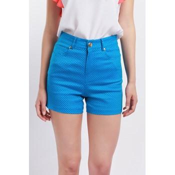 Pantaloni scurti casual dama Cutie London albastri