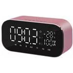 Radio ceas Akai ABTS-S2 cu BT radio FM carcasa aluminiu baterie 1800 mAh Negru ABTS-S2
