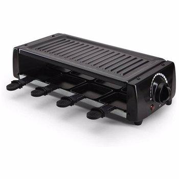 Aparat de preparat raclette PEM PA800 1200 W 8 portii Negru pem-pa800