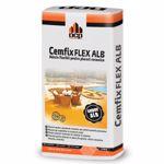 Adeziv flexibil pentru piatra naturala si placari ceramice, Cemfix Flex alb, 25 kg