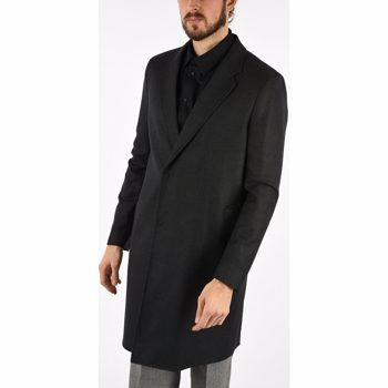 Armani EMPORIO Wool Coat Culoarea GRAY