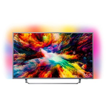 Televizor LED 108 cm Philips 43PUS7303/12 4K Ultra HD Smart TV Android 43pus7303/12
