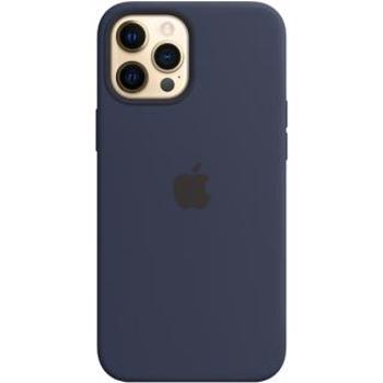 Husa Apple iPhone 12 Pro Max Silicone Case with MagSafe - Deep Navy