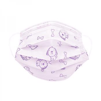Masca chirurgicala protectie copii 6 - 12 ani in 3 straturi cu 3 pliuri prindere cu elastic pachet 10 bucati diverse modele