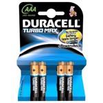 Baterii DURACELL Turbo Max AAAK4 Duralock, 4 bucati