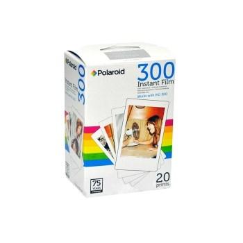 "Polaroid 300 - Hartie Foto Instant 20 Bucati 2X3"" Pentru Pic300"
