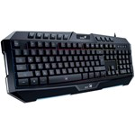 TASTATURA GENIUS K20 USB ILUMINATA BLACK 31310471100