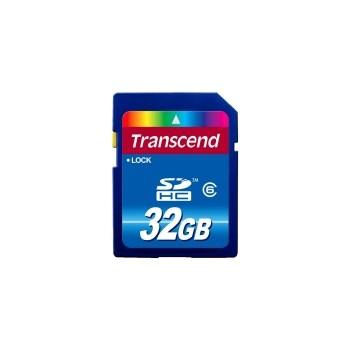 Transcend SDHC 32GB Class 6 Premium