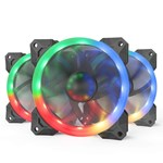 Ventilator / radiator Redragon F008 120mm RGB 3 Pack Fan