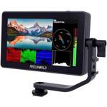 F6 Plus 5.5 inch Touch Screen Full HD 4K HDMI 3D LUT Pentru Camere DSLR Negru